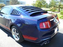 mustang rear louvers 1999 2011 mustang mrt rear window louver special 404 99 the