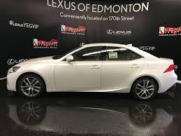 white lexus 2017 new 2017 lexus is 300 4dr sdn awd 4 door car in edmonton ab l12446