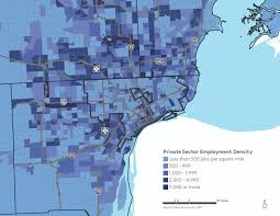 Detroit In World Map by Articles Knight Foundation