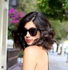 black hair for the beach beachy waves for short hair short hairstyles 2016 2017 most