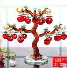 creative european wedding gift apple tree ornaments living