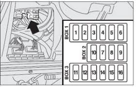 alfa romeo 156 2003 to 2007 fuse box diagram location amperage