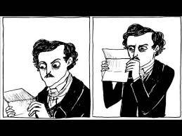 Edgar Allen Poe Meme - closer reading edgar allen poe meme reading best of the funny meme