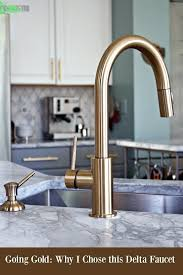 gold kitchen faucet fixing my design mistake with a gold kitchen