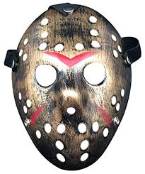 party mask thenightmarenookstore nuoka costume masks prop horror hockey