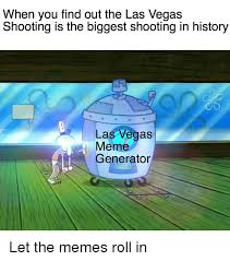 Morpheus Meme Generator - when you find out the las vegas shooting is the biggest shooting