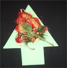 how to craft folding a christmas tree napkin hellokids com