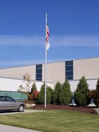 commercial flagpoles commercial flagpoles installed wisconsin