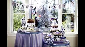 Baby Shower Decor Ideas by Purple Baby Shower Themes Decorations Ideas Youtube