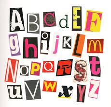 10 magazine cut out letters font images magazine letters cut out