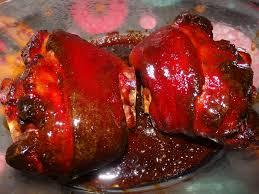 cuisiner jarret de porc wädele laqué jarret de porc au cochon heureux