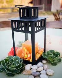 non floral centerpieces lanterns weddingbee