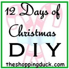12 days of christmas diy table decorations the shopping duck