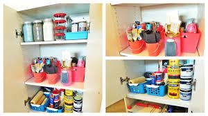 free i y budget friendly ways to organize leftover paint supplies
