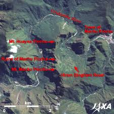 Machu Picchu Map The Castle In The Air U2013 Machu Picchu In Peru 2009 Jaxa Earth