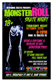 halloween skate nights skates