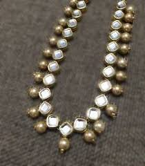 Buy Alankruthi Pearl Necklace Set Indian Pearl Jewellery Buy Latest Designs Pearl Jewelry Sets Online