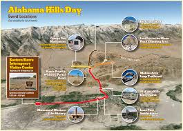 Map Alabama Alabama Hills Day Plenty Of Great Events Activities Sierra