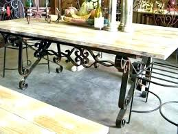 wrought iron dining table glass top glass wrought iron dining table kinsleymeeting com