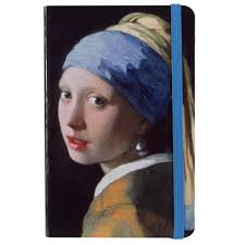 vermeer earring vermeer girl with a pearl earring small journal national