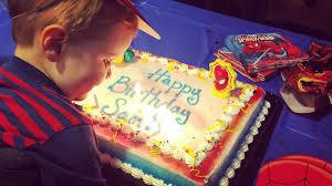 this kid had his birthday i was sad my kid had a birthday near christmas but it u0027s actually
