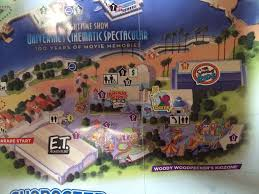 springfield map universal orlando park map adds springfield attractions