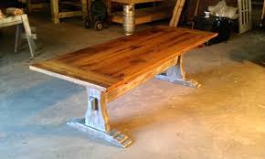 making a trestle table making trestle table legs image collections table decoration ideas