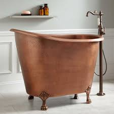49 copper slipper clawfoot soaking tub bathroom