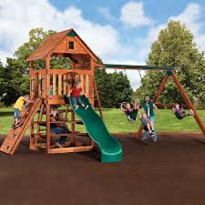 Playsets Outdoor Backyard Adventures Select Series Wooden Playsets American Sale