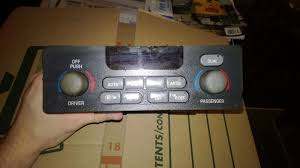 used 2001 pontiac grand prix a c u0026 heater controls for sale