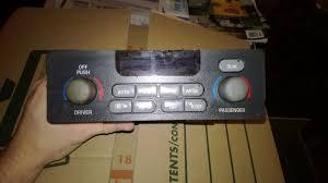used pontiac grand prix a c u0026 heater controls for sale