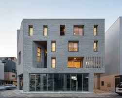 Multifamily Home Guwol Multi Family House U0026 Commercial Stores Seoga Architecture