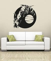 vinyl wall decal sticker bamboo sun os aa1389