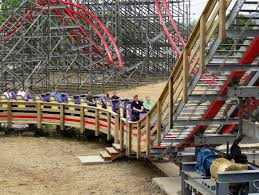 Six Flags In Kentucky Storm Chaser Kentucky Kingdom Preview Photos Coaster101
