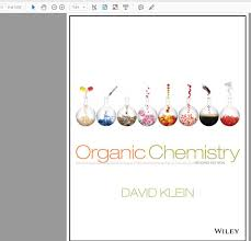 david r klein organic chemistry 2nd edition and student