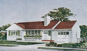 1950s Home The Kenilworth 1950s Ranch Style Home Mid Century Modern U2026 Flickr