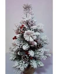 buy frosted and flocked artificial trees