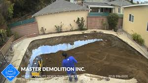 pool removal los angeles
