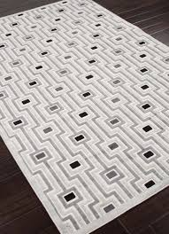 White Modern Rug by Modern Contemporary Area Rugs All Contemporary Design