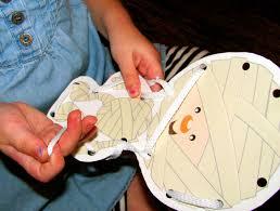 Ohcakecake Diy Toddler Halloween Lacing Cards In 15 Minutes
