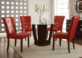 Leather Dining Room Furniture Dining Room Set With Leather Chairs Seiza Fitrop