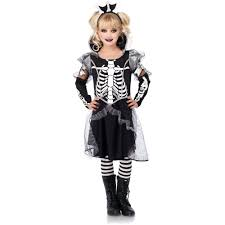 Skeleton Halloween Costume Kids Skeleton Princess Child Halloween Costume Walmart Com