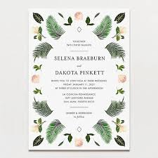 wedding invitations printable wedding invitations tagged botanical printable press