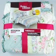 better homes and gardens country chic bedding quilt walmart com