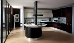 cuisine moderne ilot design interieur cuisine îlot central design moderne forme ronde