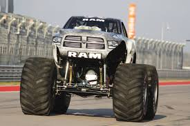 videos of monster trucks raminator monster truck crushes guinness top speed record