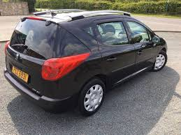 used peugeot estate cars for sale 2007 57 peugeot 207 1 4 sw estate car only 61 000 miles only