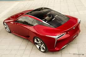 lexus lf lc performance lexus lf lc concept red u2013 five axis