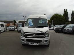 volkswagen crafter back used 2014 volkswagen crafter 2 0 tdi 109ps high roof van for sale