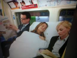 christy bed linen shoot on london underground mach management